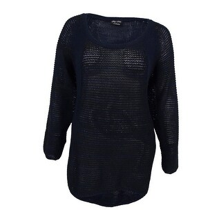 City Chic Women's Trendy Plus Size Contrast Sweater (L, Ink) - Ink - 20W