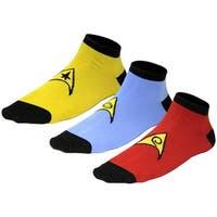 Star Trek Uniform Socks Command, Science, Engineering -- 3 Pair