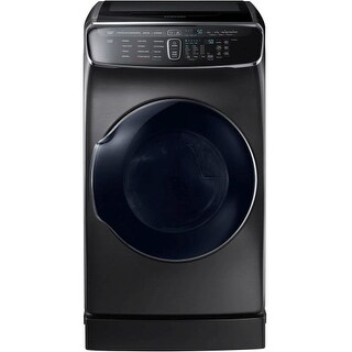 Samsung DVG60M9900 27 Inch Wide 7.5 Cu. Ft. Gas Dryer with 16 Drying Cycles and Upper Delicates Dryer