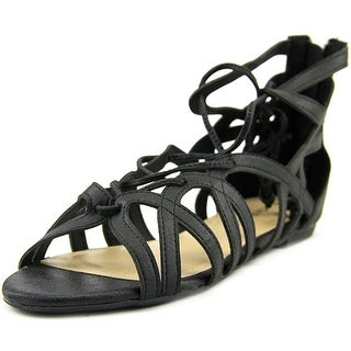 Rampage Dole Open Toe Synthetic Gladiator Sandal