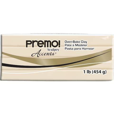 Premo Clay 1Lb-Translucent