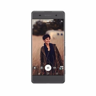 Sony Xperia XA Unlocked Smartphone -16GB, Black, 4G LTE GSM (USA Warranty) - F3113 - Black