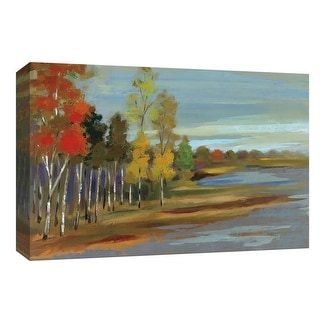 """PTM Images 9-153664  PTM Canvas Collection 8"""" x 10"""" - """"Young Aspens"""" Giclee Forests Art Print on Canvas"""