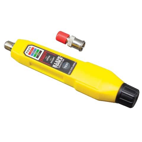 Klein tools coax explorer 2 tester w/1 red remote