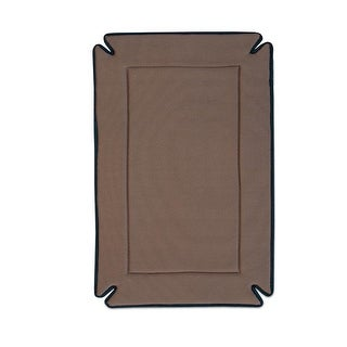 "K&H Pet Products Odor-Control Dog Crate Pad Mocha 37"" x 54"" x 0.5"""