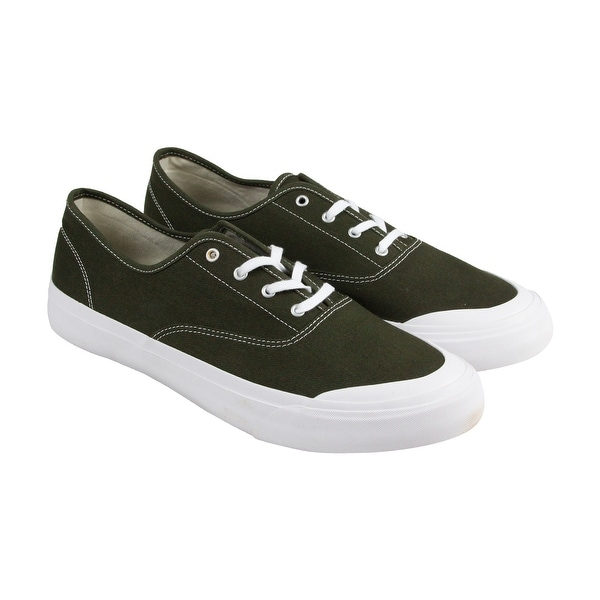 HUF Cromer Mens Brown Textile Lace Up Sneakers Shoes