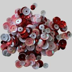 Lovely - Clear Scraps Sequin Multi Pack 350 To 400 Pieces
