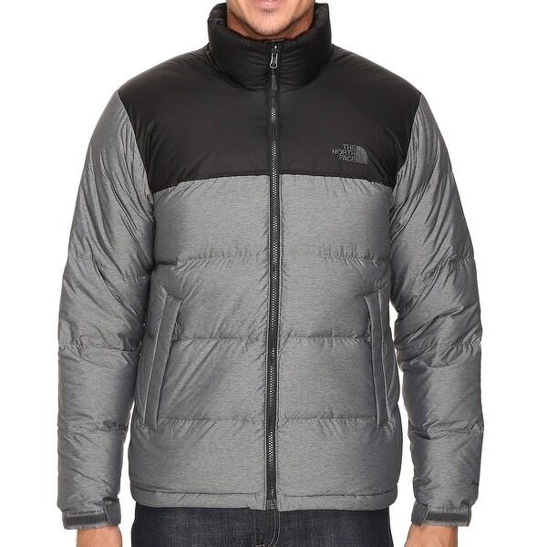 Shop The North Face New Medium Gray Mens Size Xl Nuptse Down Puffer