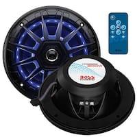 BOSS Audio MRGB65B 200 Watt (Per Pair), 6.5 Inch, Full Range, 2 Way Marine Speakers