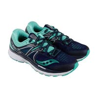 Saucony Triumph Iso 3 Womens Blue Mesh Athletic Lace Up Running Shoes