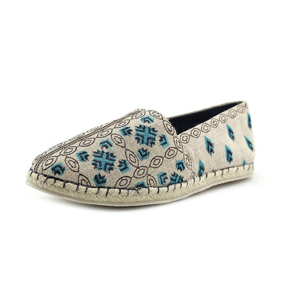 29 Porter Rd Emily Women Neutral/Ocean Blue Flats