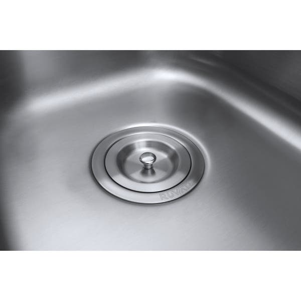 Ruvati Rvm4405 Varna 31 1 2 Undermount Double Basin 16 Gauge Stainless Steel Overstock 20543453