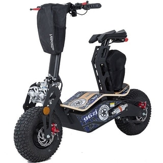 Link to MotoTec Mad Blue 1600w 48v Electric Scooter Similar Items in Bicycles, Ride-On Toys & Scooters