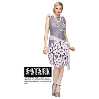 Women's Great Gatsby Daisy Buchanan Bluebells Dress