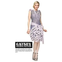 51794b6718c Shop Sandy Speak Easy Flapper - Free Shipping Today - Overstock ...