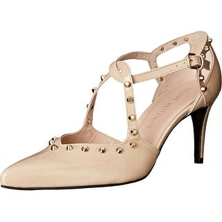 Stuart Weitzman Womens Meteor Pointed Toe Ankle Strap D-orsay Pumps
