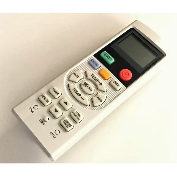 OEM Haier Remote Control Originally Supplied With: HSU24VCKG, HSU24VCKW