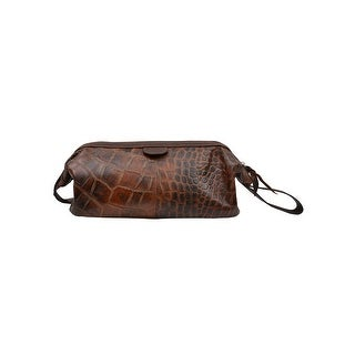 Link to 3D Western Bag Travel Gator Print Zipper Top Closure Brown Similar Items in Travel Accessories