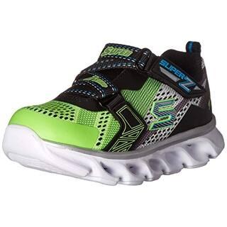 0fff1e1478ec7 Skechers Kids Boys' Hypno-Flash Light Up Loafer, Lime/Black, 5