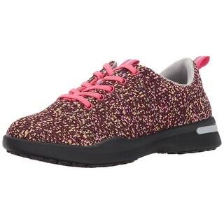 SoftWalk Women\u0027s Sampson Sneaker, Pink/Multi, Size 10.0