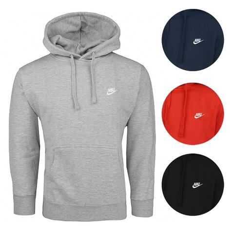 15fac6c72 Nike Men s Club Fleece Pullover Hoodie
