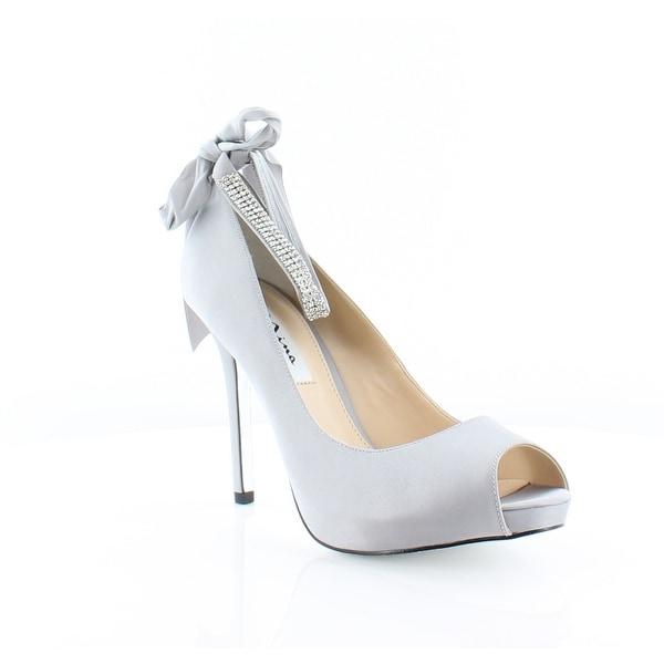 Nina Karen Women's Heels Silver