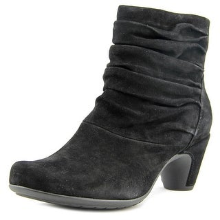 Earthies Vicenza   Round Toe Suede  Ankle Boot