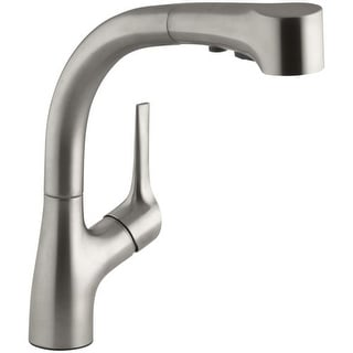 Kohler K-13963 Elate Kitchen Sink Faucet with Pullout Spray Spout, Lever Handle and ProMotion Technology