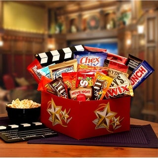 Link to It's a Redbox Night Gift Box with Redbox gift card Similar Items in Gourmet Food Baskets