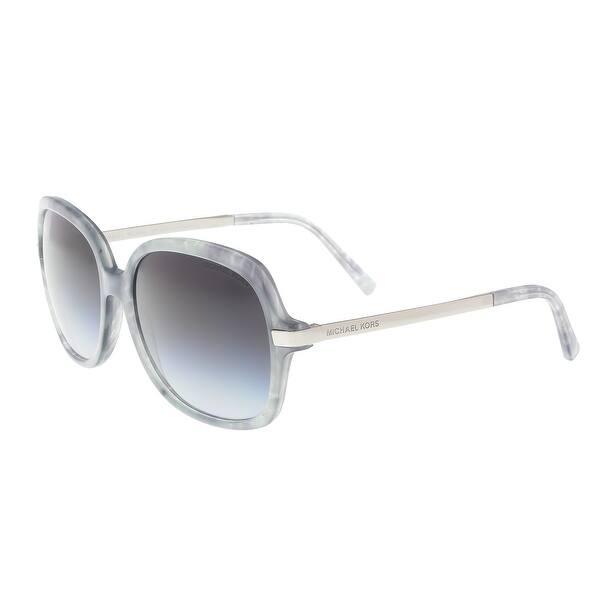 4ed61288f2 Michael Kors MK2024 316111 ADRIANNA II Grey Tortoise Square Sunglasses -  57-16-135 ...