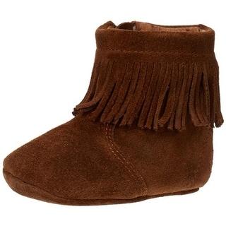 Ralph Lauren Papoose Suede Infant Boots