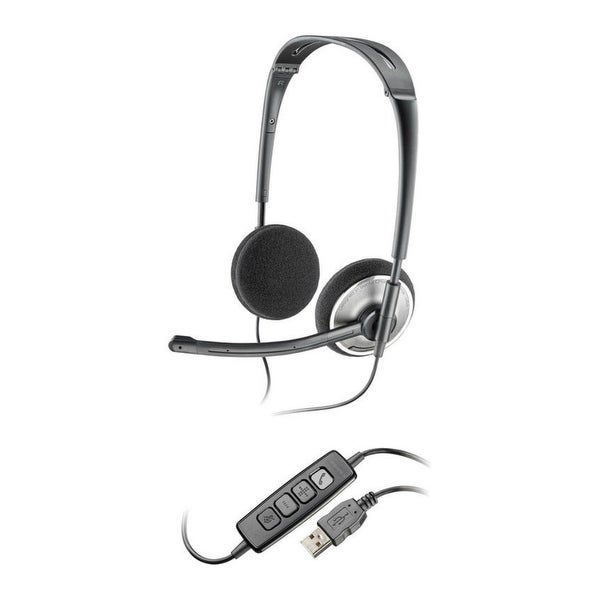 dcb6cea719b Plantronics Audio 478 Replace By Plantronics Blackwire 5220 Stereo Corded  Headset