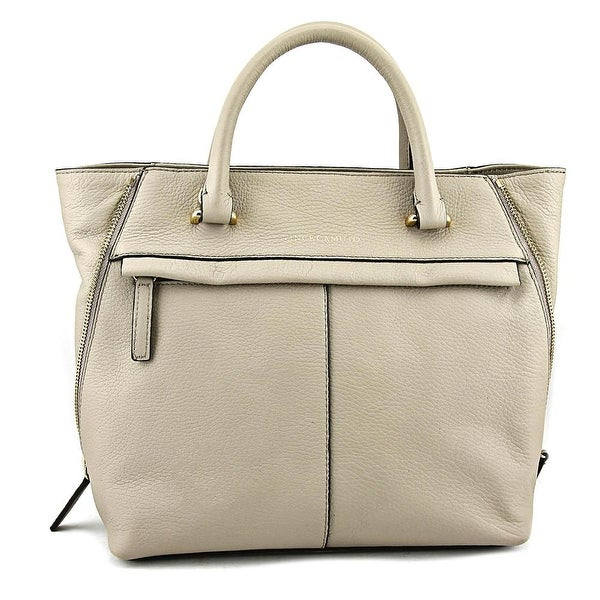 Vince Camuto Julio Satchel Women Leather Gray Satchel