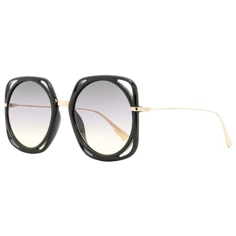 Dior Direction 26S0D Womens Black/Copper Gold 56 mm Sunglasses - Black/Copper Gold - Black/Copper Gold