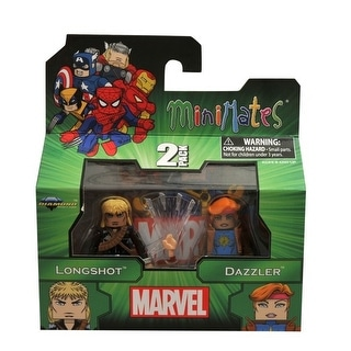 Marvel Minimates Series 47 Figure 2 Pack Longshot & Dazzler