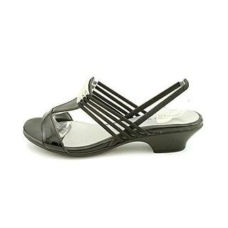 Karen Scott Eva Open Toe Synthetic Slingback Sandal
