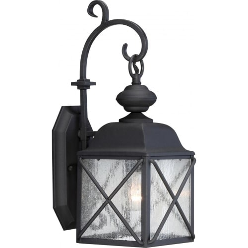 "Nuvo Lighting 60/5621 Wingate 6.875"" Width 1 Light Outdoor Lantern Wall Sconce"