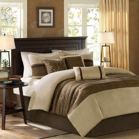 Madison Park Kennedy Natural Comforter Set