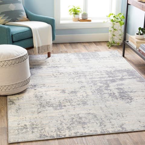 The Gray Barn Singing Prairie Abstract Area Rug