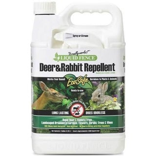 Liquid Fence HG-70109 Deer and Rabbit Repellent, 1 Gallon