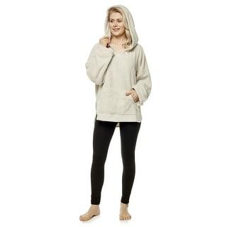 Link to Women's Hooded Fleece Pullover Sweatshirt Long Sleeve Soft Hoodie with Front Pocket Similar Items in Loungewear