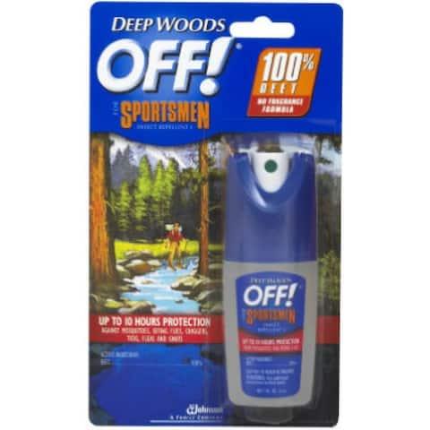 Off 01849 Deep Woods Sportsmen Insect Repellent, 1 Oz