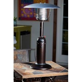 Fire Sense 61322 Hammer Tone Bronze Table Top Patio Heater - hammer tone bronze