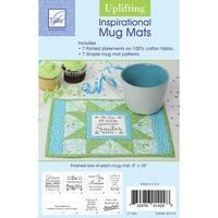 """Inspirational Mug Mats-Uplifting 8""""X10"""""""