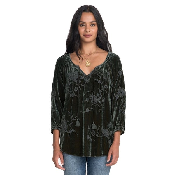 Johnny was Womens Millie Blouse. Opens flyout.