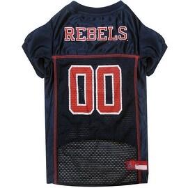 Collegiate Mississippi Rebels Pet Jersey