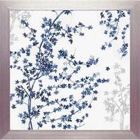 North American Art N2177 20 x 20 in. Blue Ivy Framed Art Print