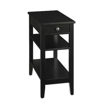 Copper Grove Aubrieta 3-tier Single-drawer End Table