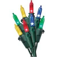 Celebrations 40782-71 LED Traditional Mini Light Set, 100 Multi-Color Lights