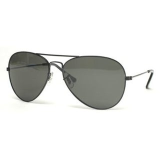 Gravity Shades Classic Black Aviator Tint Len Sunglasses w FREE CASE - One size